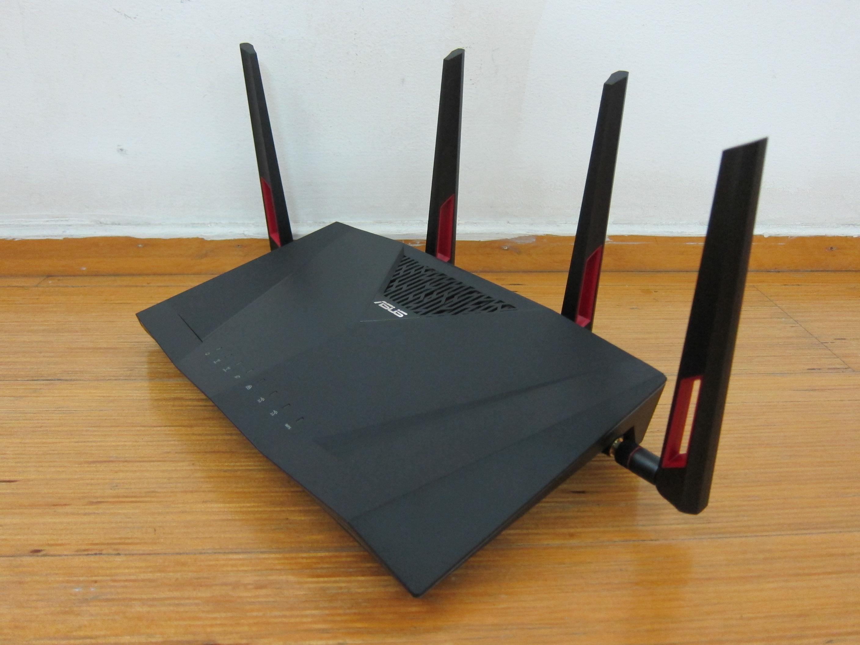 asus rt acu router review blog lesterchannet