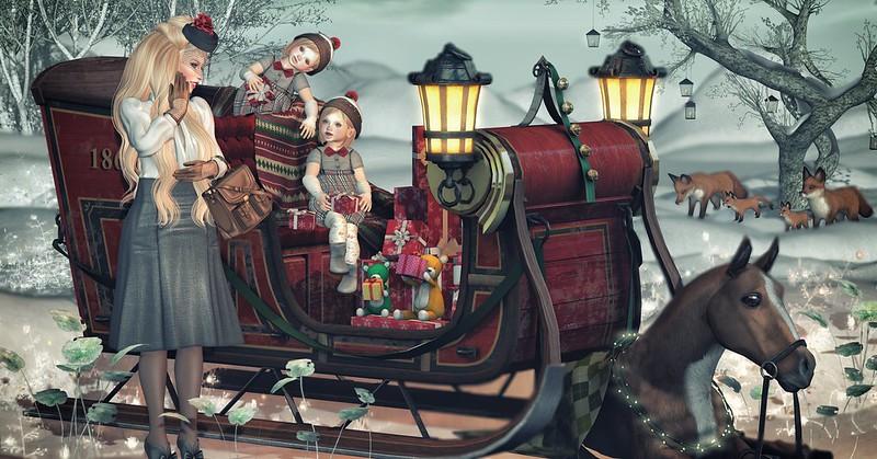 Amelie et les petites: Happy Christmas
