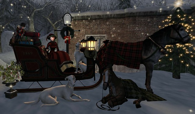 Christmas Sleigh Ride - FabFree Photo Challenge