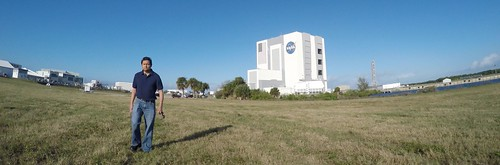 Me and the VAB (GoPro screenshot)