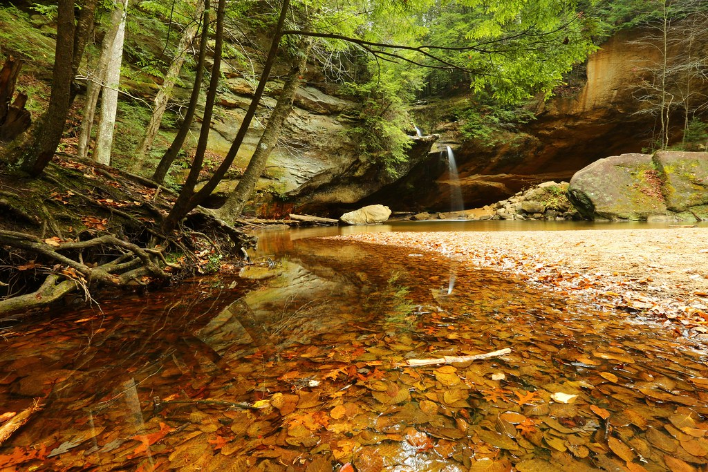 Red rock hollow ohio around guides for Getawaycabins com