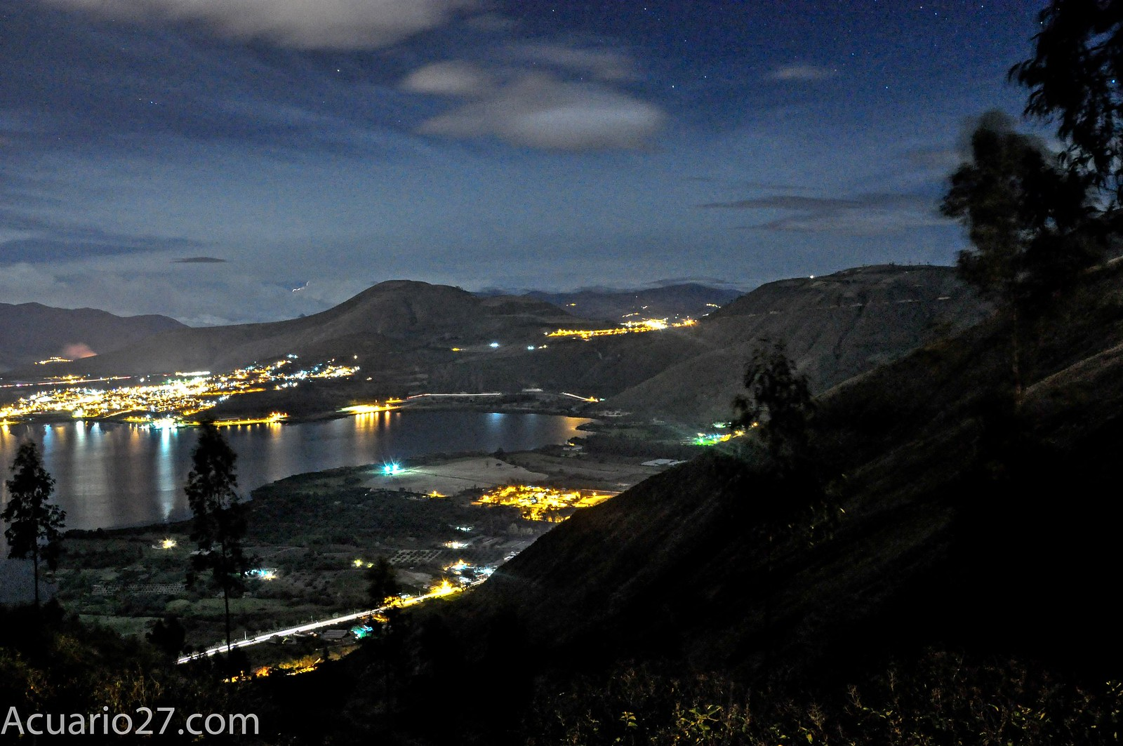 Nocturna Yahuarcocha