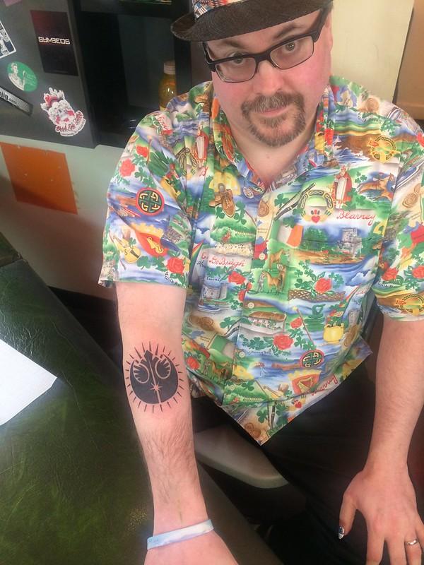 Family Star Wars tattoo