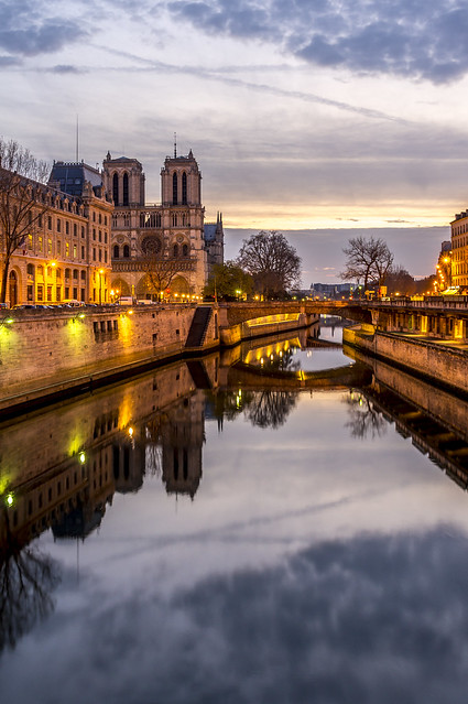 Notre-Dame, reflections