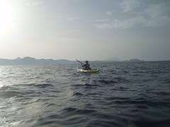 Helen crossing the open sea Image