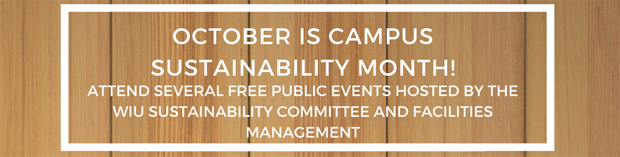 2016 Sustainability Month