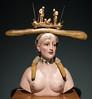 Busto de mujer retrospectivo by Salvador Dalí