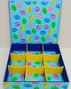 Caixa de Chá Conchas Coloridas
