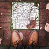 A tile map of the Laurelhurst neighborhood. #laurelhurstpdx