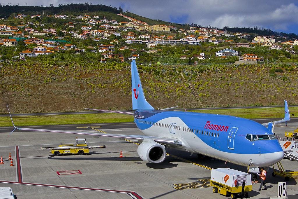 FNC/LPMA: Thomson Boeing B737-800 G-TAWJ