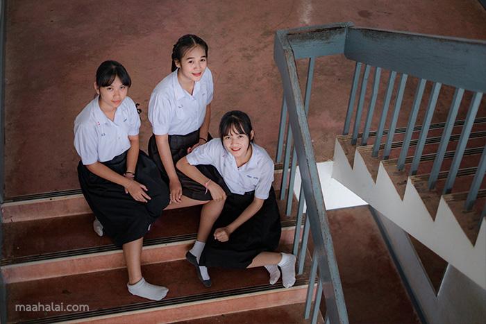 Lightroom school uniform tone