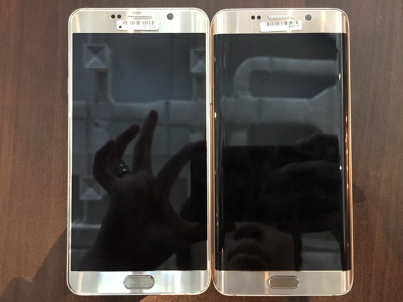 Samsung Galaxy Note 5 & S6 edge+ - Front
