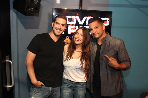Sarah Shahi returns to the Covino & Rich Show