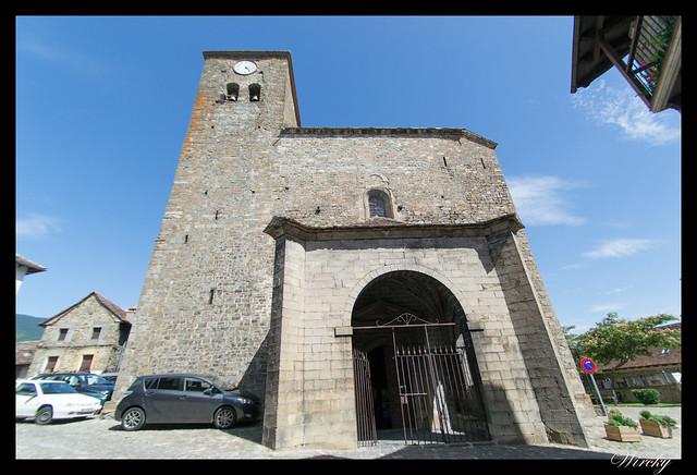 Iglesia parroquial de San Pedro de Ansó