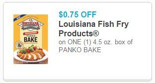 Louisiana Fish Fry Panko Bake