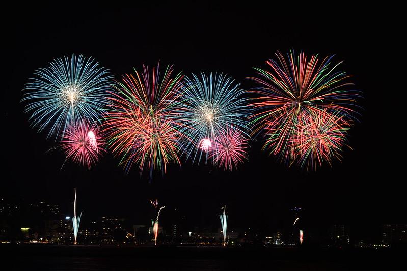 夏の長野旅行 諏訪湖花火大会 2015年8月15日