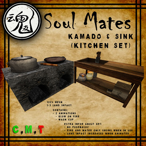 [Soul Mates] Kitchen Set