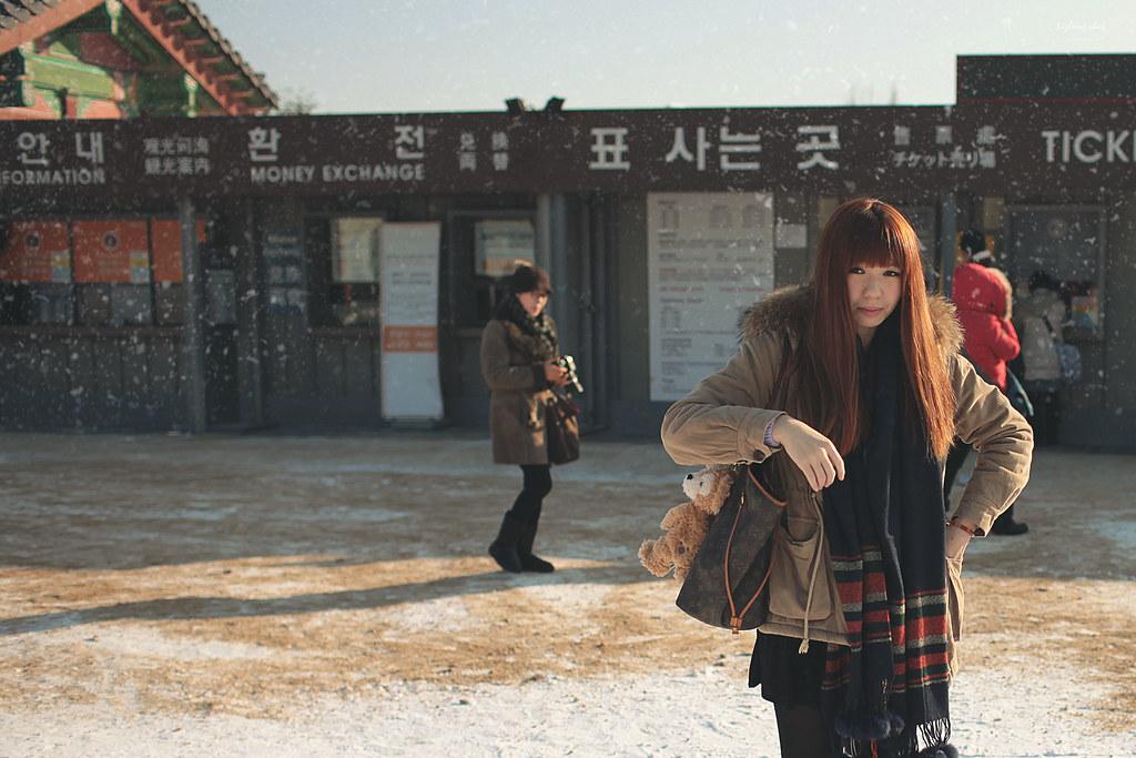 不小心散步到首爾