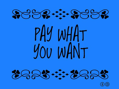 Buzzword Bingo: Pay What You Want (PWYW)
