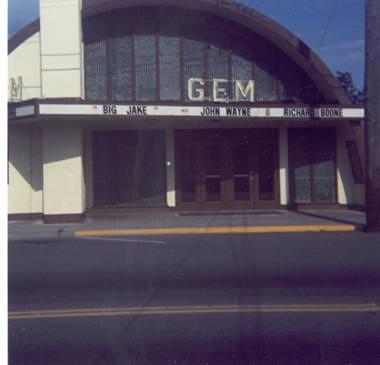 Gem Theatre - facade