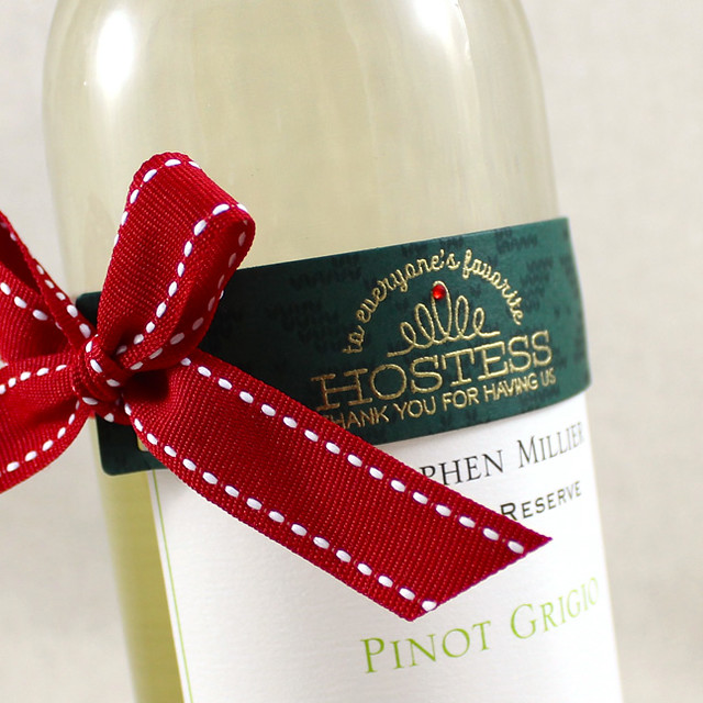 Wine Bottle Hostess Gift