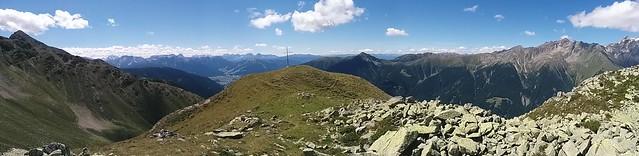 Gipfelkreuz des Napfl in Sicht