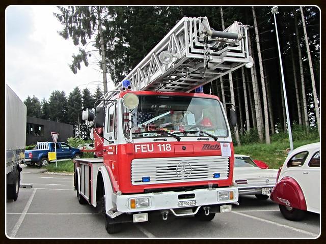 Mercedes-Benz 1424F, 1980 _ Ex-Feuerwehr