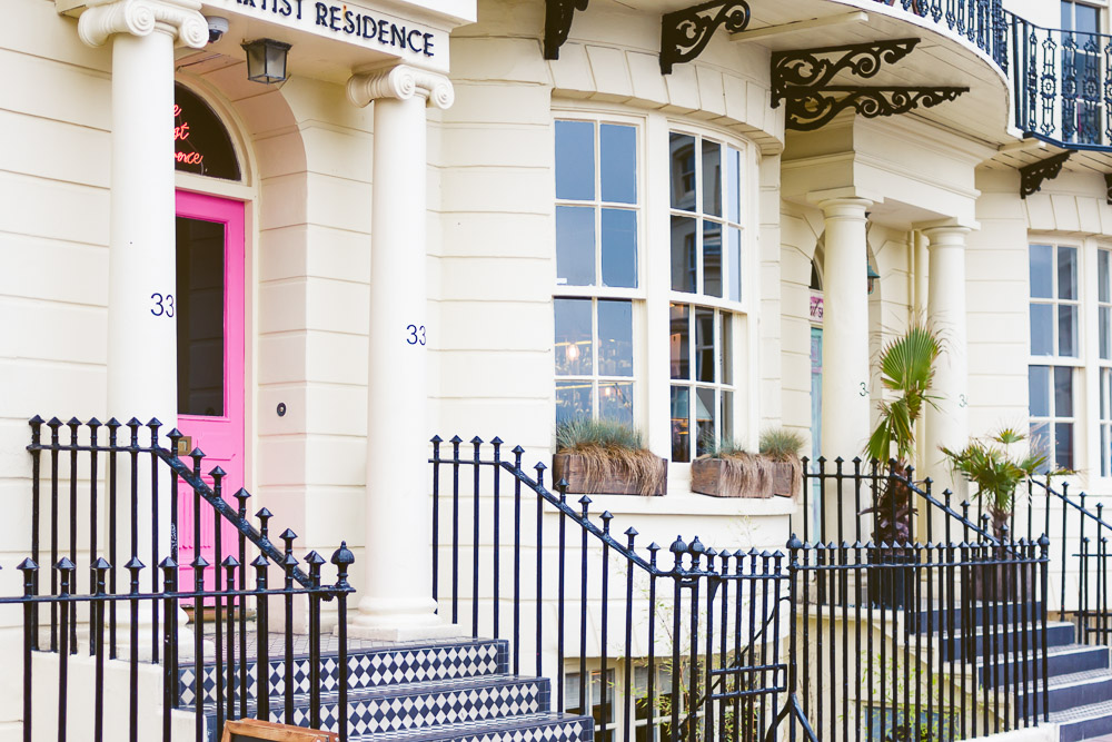 Artist residence hotel brighton colourful fun indie place to stay street