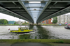Under the Prince Claus Bridge