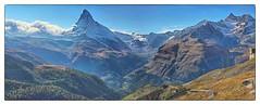 Faszinierende Bergwelt mit dem Matterhorn