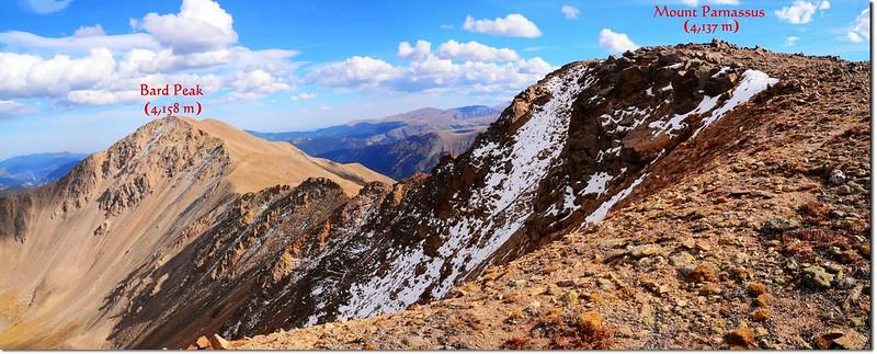 Bard~Parnassus ridge