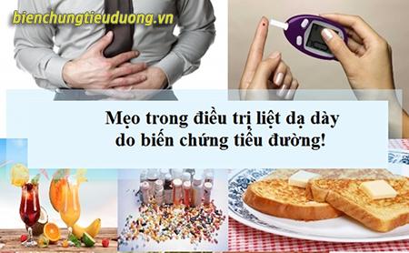Điều trị liệt dạ dày do biến chứng tiểu đường cần kết hợp nhiều phương pháp