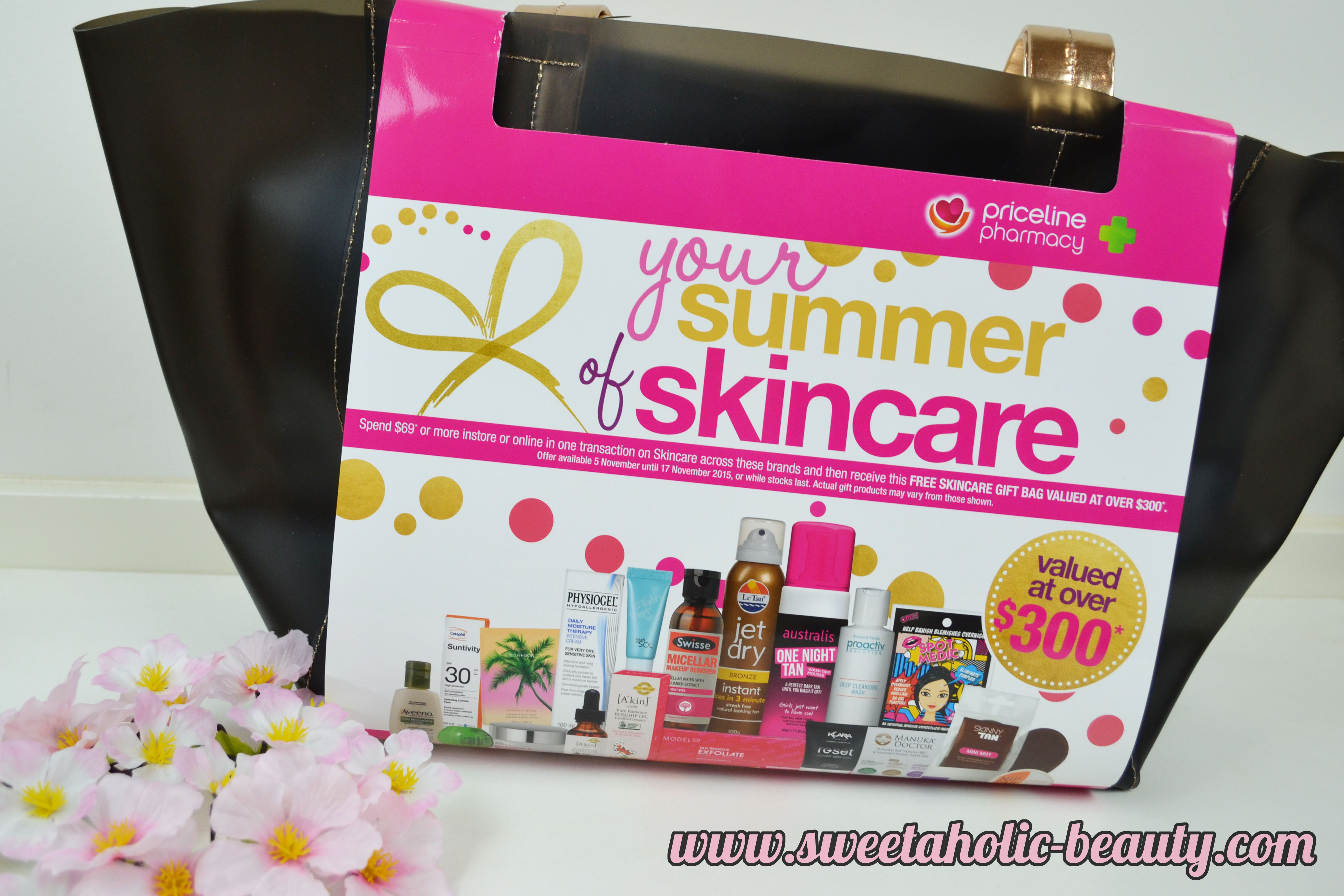 Priceline Your Summer of Skincare Bag - Sweetaholic Beauty