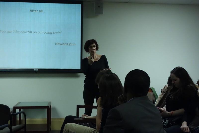 Dr. Teloni speaks @ BU SSW