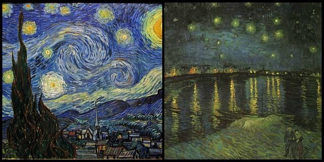 Van Gogh e Munch