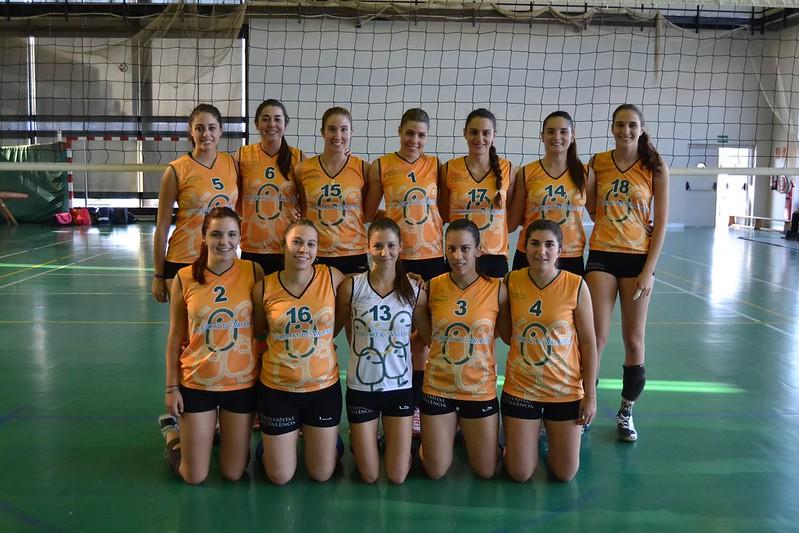 Voleibol femenino CADU 2015