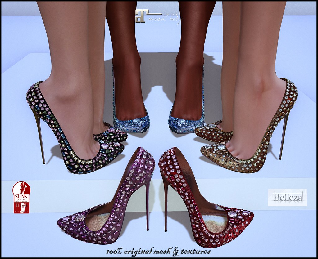 Princess heels by ChicChica OUT @ The Fantasy Collective event