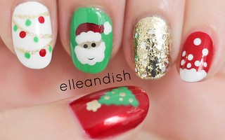 nails-Christmas misc