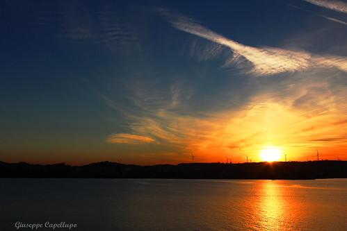 tramonto dicembrino