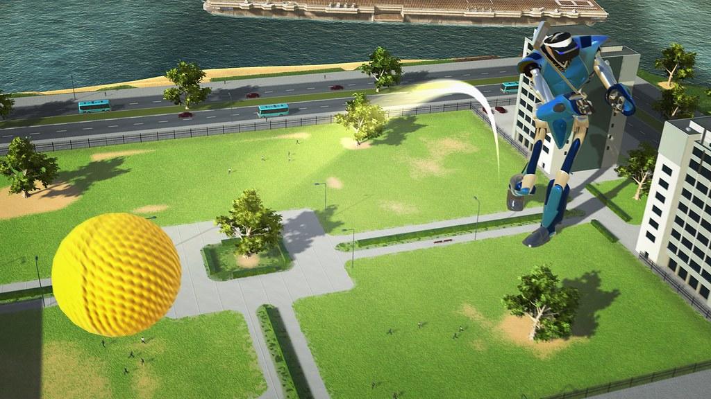 100ft Robot Golf, Image 02