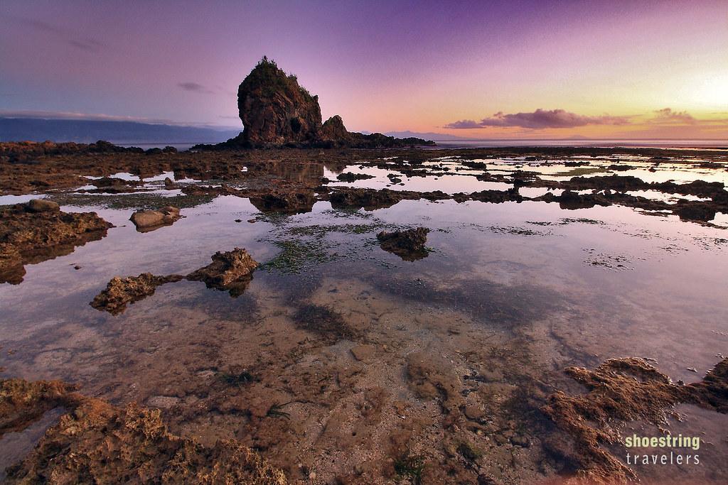 sunrise at Diguisit Beach