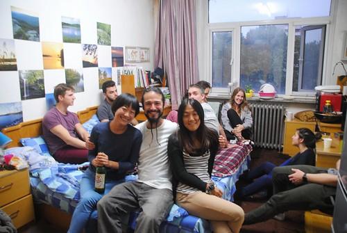 40 Fiesta con amigos en Pekin