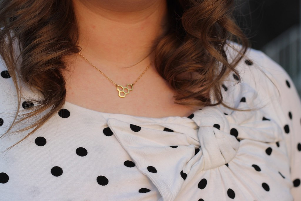 Gorjana Honeycomb Necklace