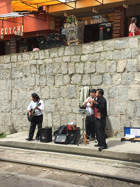 Jammin' in Aguas Calientes