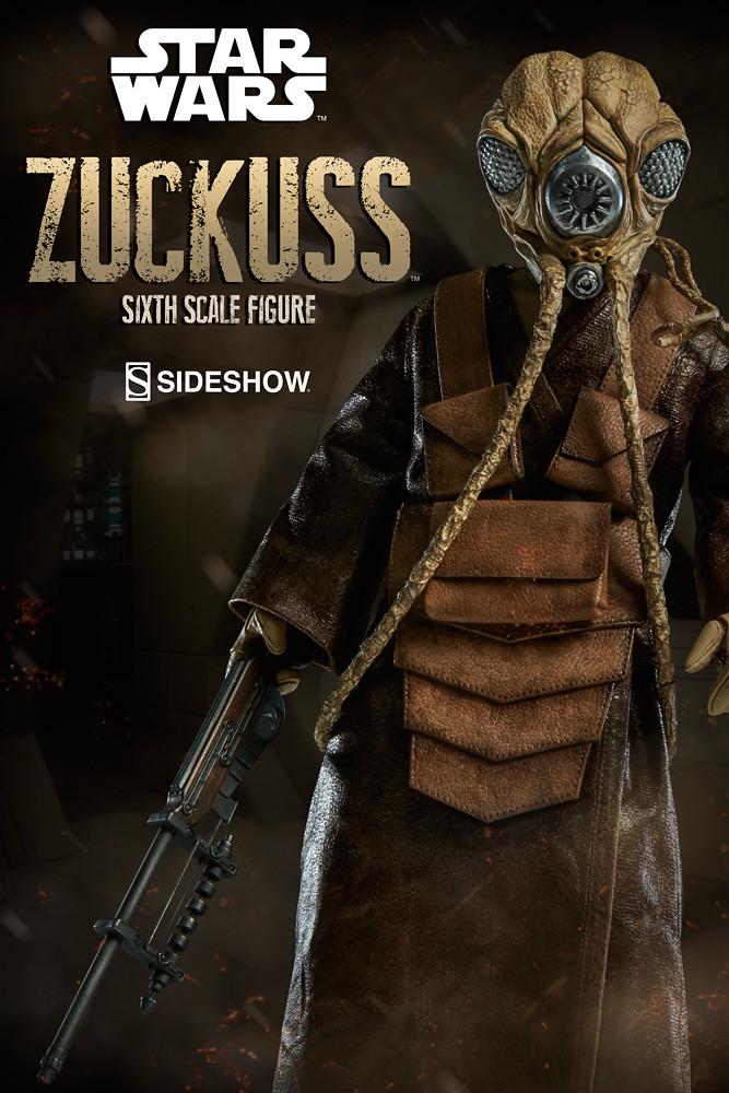 Sideshow Collectibles【賞金獵人:扎庫斯】星際大戰系列 Zuckuss 1/6 比例人偶作品