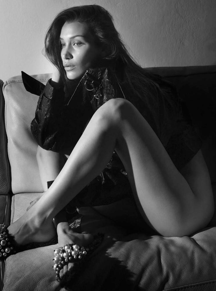 Белла Хадид — Фотосессия для «Vogue» FR 2016 – 6