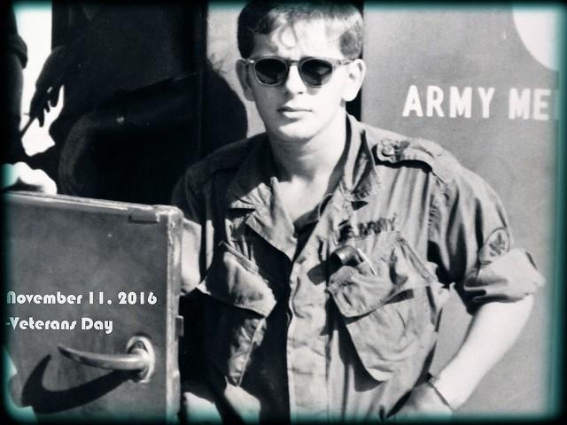 My husband, Army Medic, Fujifilm FinePix HS35EXR