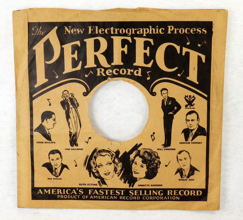 RD14635 3 Vintage PERFECT 78 RPM Album Sleeves American Record Corporation DSC06741