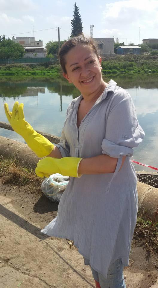 Conversano- cittadini ripuliscono il lago di Sassano 2