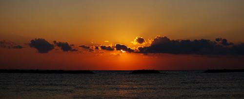 sun clouds sunrise mare alba sole ferie 2015 cesenatico